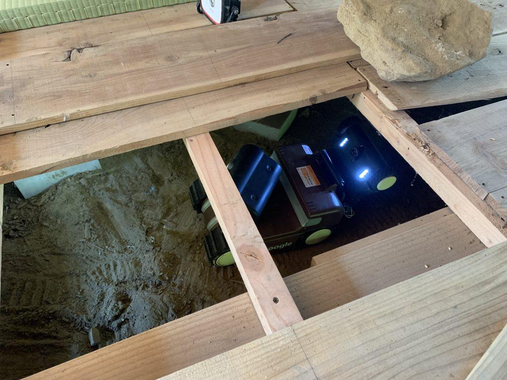 床下インスペクション モーグル