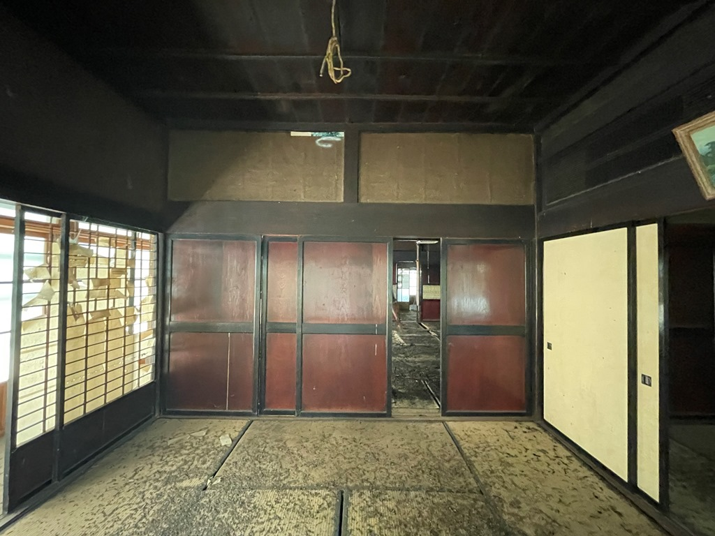 阿賀町空き家バンク登録古民家物件調査